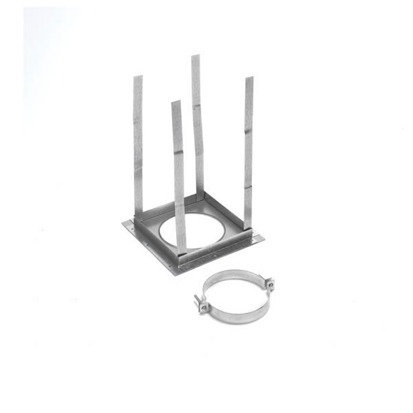 dura vent type b gas vent square ceiling firestop support