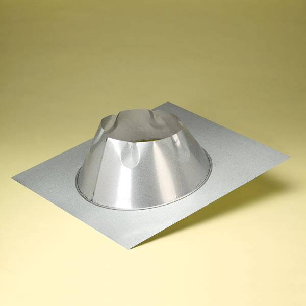 DuraPlus All-Fuel Chimney Galvalume Roof Flashing - For Chimney Pipes with a 6-Inch Inner Diameter ... : 12 inch diameter stove pipe - www.happyfamilyinstitute.com