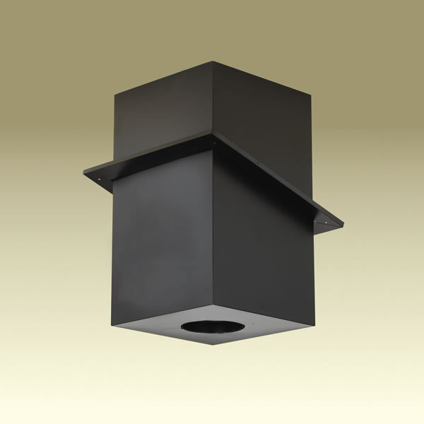Duraplus All Fuel Square Cathedral Ceiling Support Box