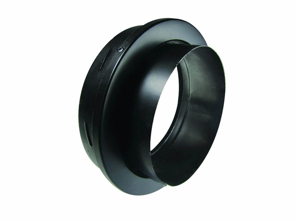 DuraVent DVL Stovepipe/Chimney Pipe Adaptor With Trim - 6