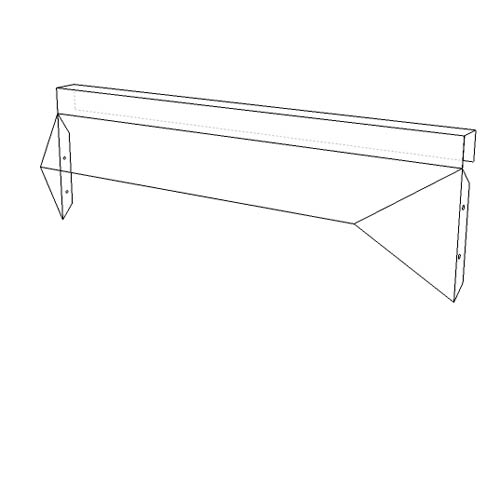 Elite Canopy Fireplace Hood For Use With Track Mount