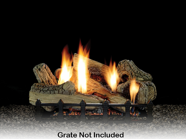 Empire 24 Canyon Ceramic Fiber Ventless Propane Gas Log