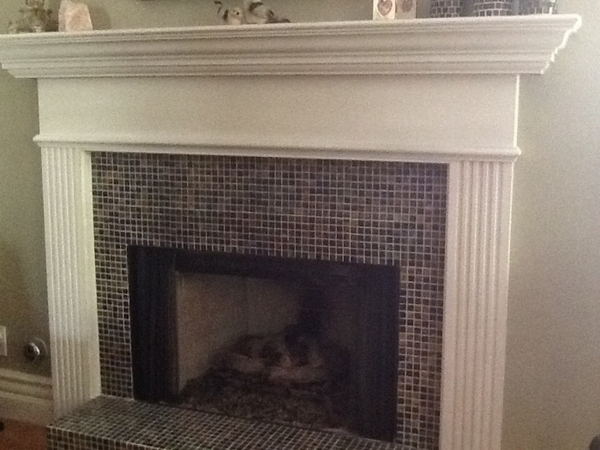 Empire 48 Profile Wooden Mantel With Standard Trim Unfinished Mfl 48 Uh