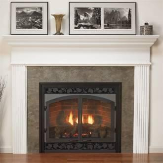 Empire 52 Inch Profile Wooden Mantel with Standard Trim - Primed - MFL-52-PG Building a home hearth can be nerve-wracking... even when things are going smoothly. If you want to cut down on time and headaches