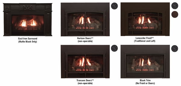 Awesome Empire Decorative Transom Fireplace Doors With Surround And Barrier Screen Download Free Architecture Designs Viewormadebymaigaardcom