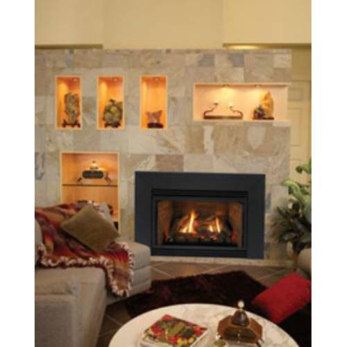 Large Innsbrook Direct Vent Gas Fireplace Insert With Intermittent