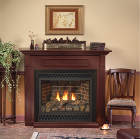 Empire DVD36FP70N Tahoe Deluxe Direct Vent Fireplace What could be better than an evening spent relaxing by your own fire? Relaxing next to the Empire DVD36FP70N Tahoe Luxury Direct Vent Fireplace knowing that you won