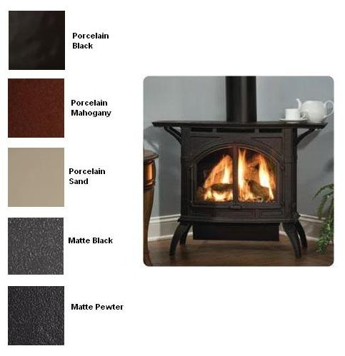 Empire Dvp30ca30 Heritage Direct Vent Cast Iron Gas Stove With Porcelain Finish Natural Gas