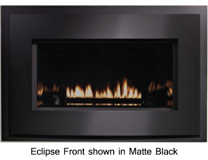 Empire Loft Direct Vent Gas Fireplace Insert with Millivolt Controls -  27,000 BTU - Loft Direct Vent Gas Fireplace Insert With Millivolt Controls