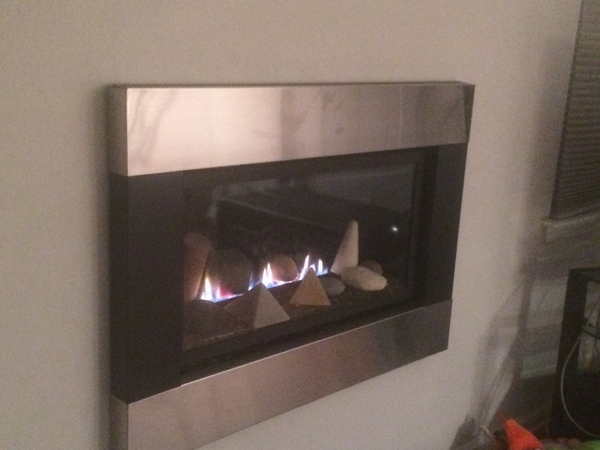 Empire Loft See-Through Direct Vent Gas Fireplace with RF ...