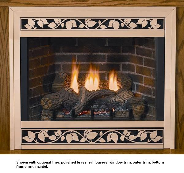 Empire Tahoe Deluxe Direct Vent Propane Fireplace 36 Dvd 36 Fp30p