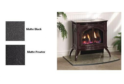 VFP30CA30 Heritage Vent-Free Cast Iron Gas Stove with Matte Finish ...