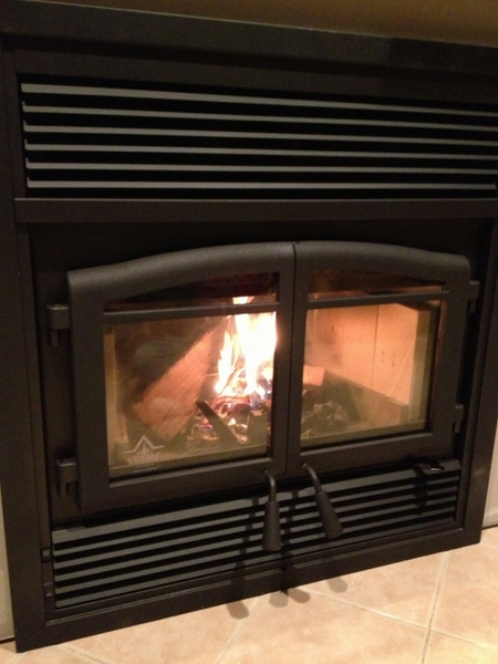 Flame Monaco Epa Zero Clearance Wood Burning Fireplace