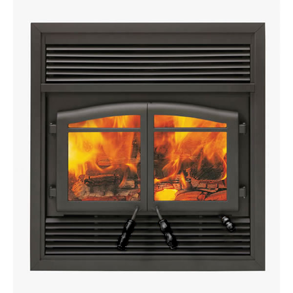 flame clearance wood burning fireplace prefab zero doors tools majestic