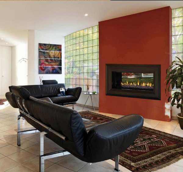 mendota center appliance natural product gas fireplaces modern nw linear fireplace