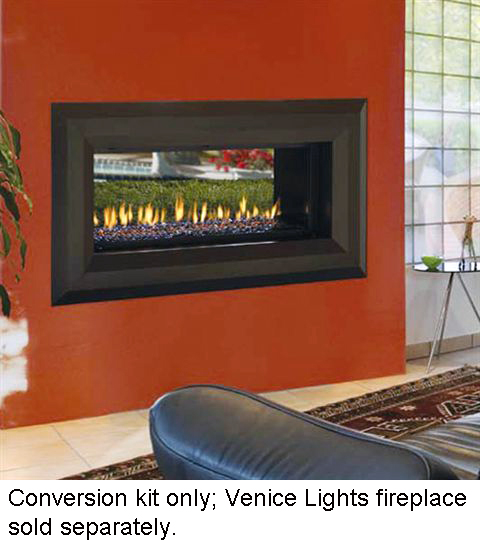 Fmi Conversion Kit For Venice Lights 43 See Thru Fireplaces For Conversion For Outdoor Use