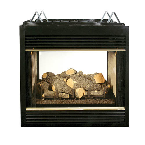 FMI Santa Fe 36 Inch Direct Vent 2 Sided Fireplace