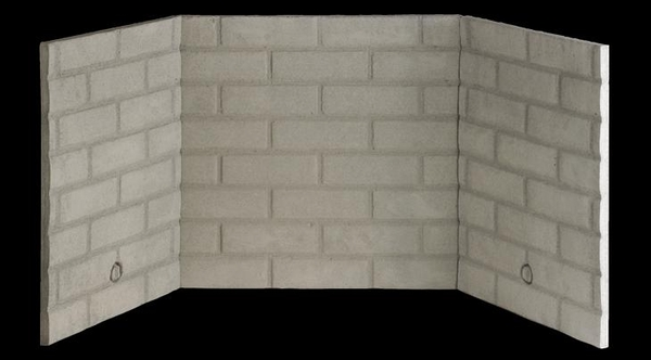 Fmi Traditional Stacked Fiber Brick Liner Kit For 36 Inch Cape Cod Firebox