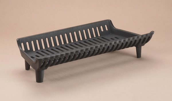 G Series Franklin 27 In 39 Flat Bottom 39 Cast Iron Fireplace Grate
