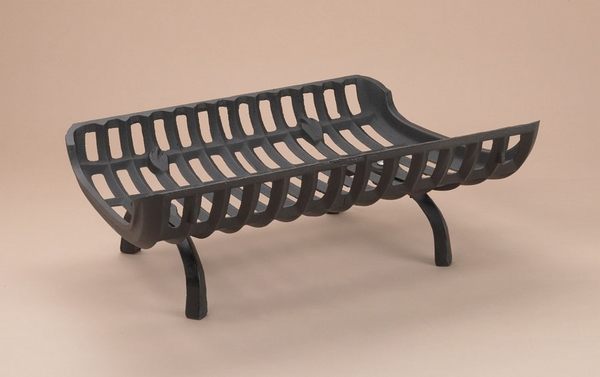 Series 28 1/2 in. 'Basket Style' Cast Iron Fireplace Grate
