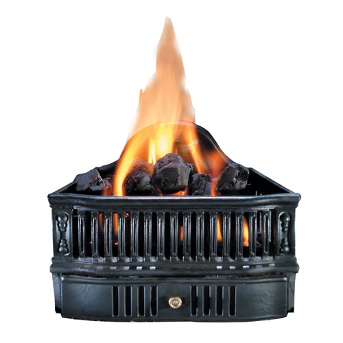 Hargrove 19 Gas Coal Basket With Variable Flame Remote Natural Gas