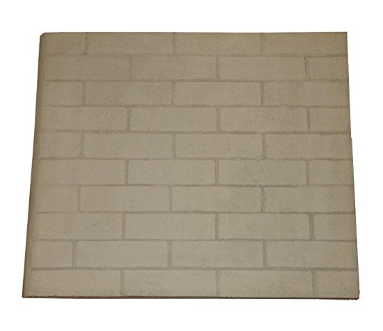Hargrove Replacement Fireplace Refractory Panels - 24 inch X 40 inch - Set of 2 These replacement fireplace refractory panels (large brick pattern) are engineered for extreme heat