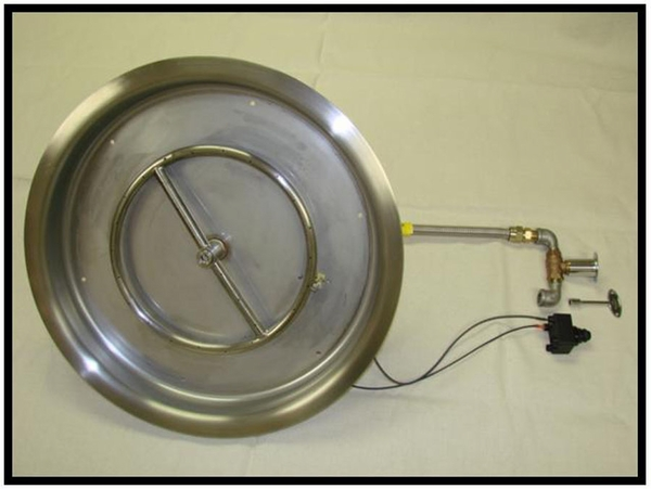 Hearth Products Controls 19 Inch Stainless Steel Bowl ...