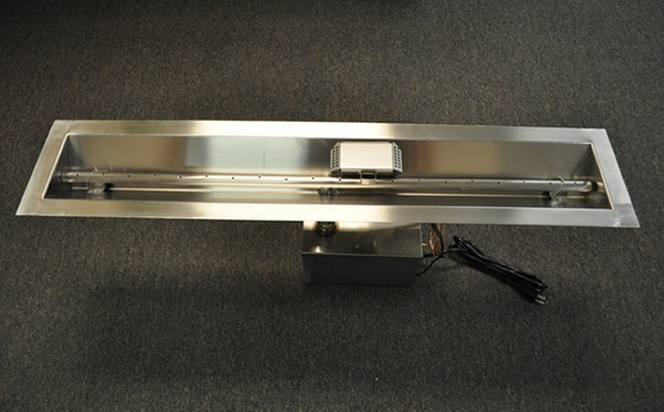 Hearth Products Controls 96 Inch Stainless Steel Linear