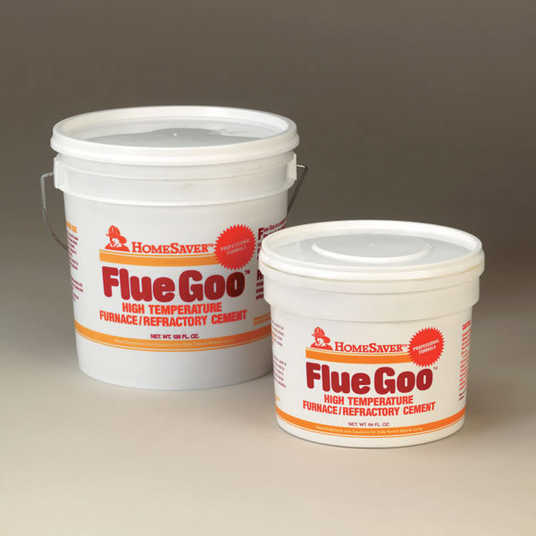 Homesaver Flue Goo Pre Mixed Furnace And Refractory Cement