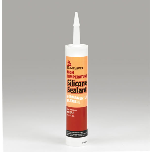High Heat Caulking : Homesaver high temperature silicone sealant pack of six
