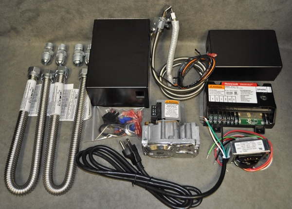 Honeywell 150 000 Btu Natural Gas Safety Pilot Valve Kit With Electronic Ignition