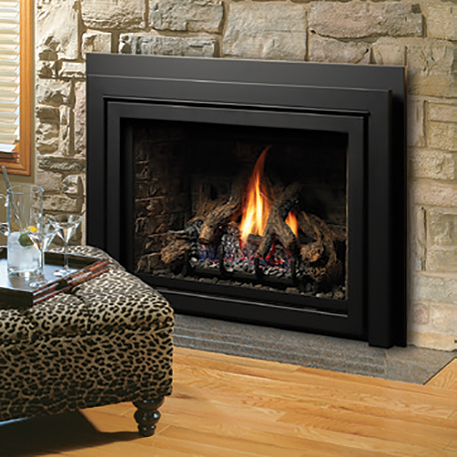 Kingsman Direct Vent Fireplace Insert With Blower Idv43