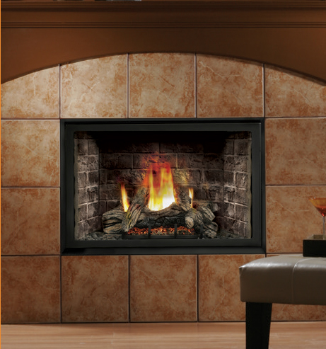 Kingsman Hbzdv4228 Direct Vent Gas Fireplace Millivolt Pilot