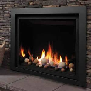 ZCV39 Designer Clean View Direct Vent Fireplace