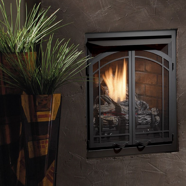 Marvelous Kingsman Zero Clearance Vent Free Gas Fireplace 24 Inch Zvf24 Interior Design Ideas Apansoteloinfo