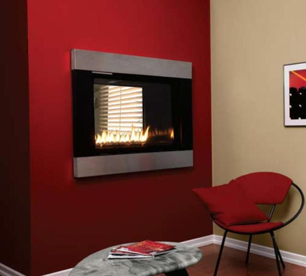 Empire Loft See Through Direct Vent Gas Fireplace With Rf