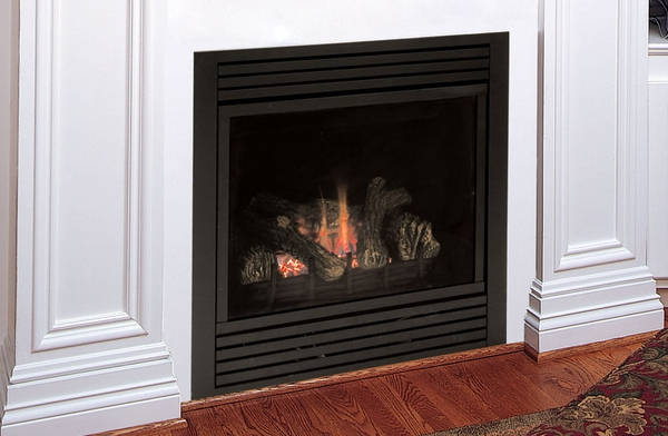 Majestic 33 Cdv Rear Vent Gas Fireplace With Signature Command Controls Propane Gas Cdvr33psc7