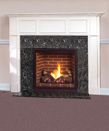 Majestic 36 Solitaire Direct Vent Gas Fireplace With Signature Command Controls Propane Gas