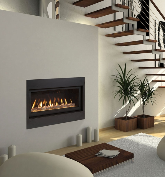 Majestic 42 Echelon Wide View Direct Vent Gas Fireplace With Signature Command Controls