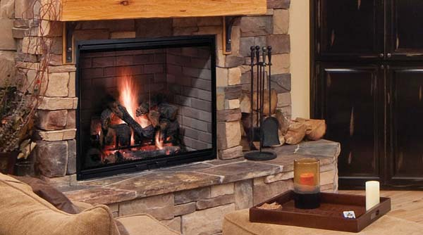 Majestic Biltmore Radiant Wood Burning Fireplace 36 Inch