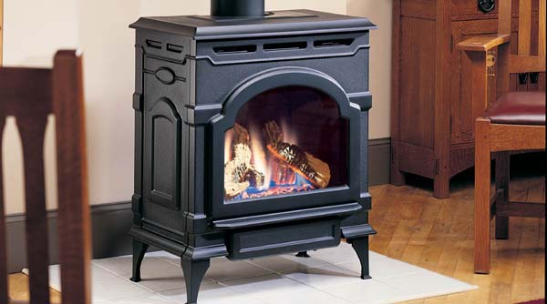 Majestic Oxford Direct Vent Gas Stove - OXDV30NVSB