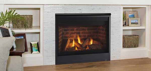 Majestic Quartz 36 Direct Vent Gas Fireplace With Intellifire