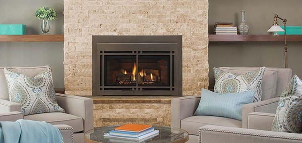 Majestic Ruby Series Medium Direct Vent Gas Insert with Intelli-Fire Plus Ignition System