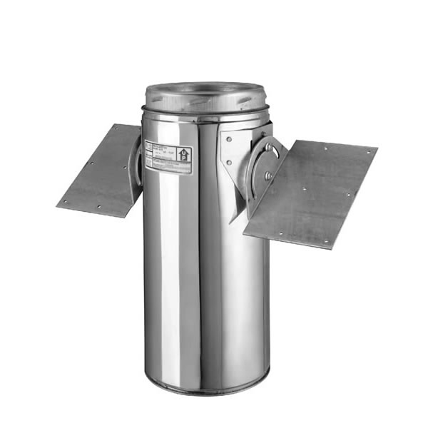 Selkirk Ultra Temp Chimney Pipe Roof Support Package For