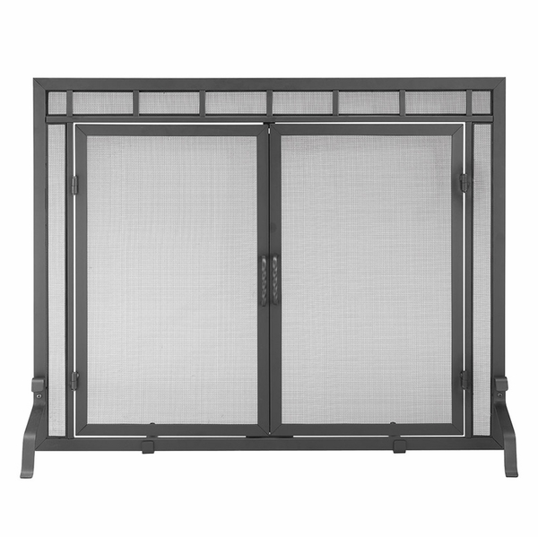 minuteman x800285 black fireplace screen rh efireplacestore com