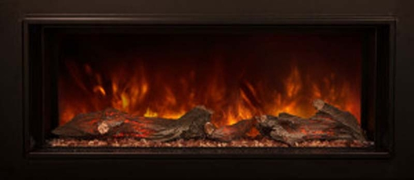 modern flames zcr series electric fireplace insert with trim zcr3824