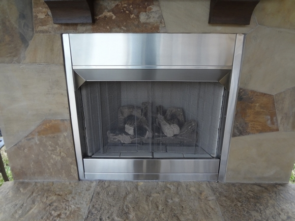 Monessen 4 Inch Stainless Steel Fireplace Hood For 36 Inch Al Fresco Stainless Steel Outdoor
