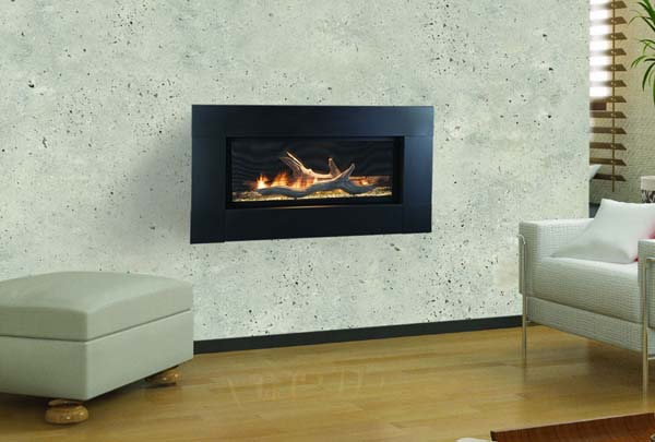 Monessen Artisan Linear Vent Free Fireplace with Signature Command Control - 42 Inch One of the interesting features of this model is its installation options. It has been designed to accommodate any type of space. It comes with a vent free design. This A