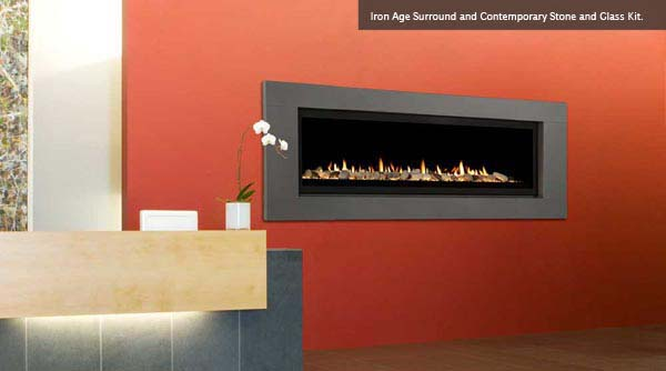 Wind Vertical Termination gas fireplace insert reviews