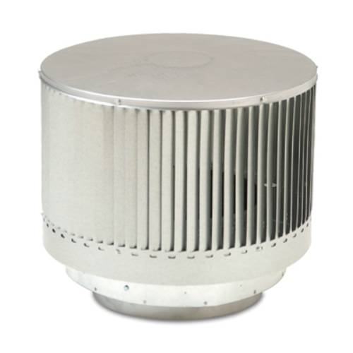 Monessen Contemporary Round Louvered Chimney Pipe